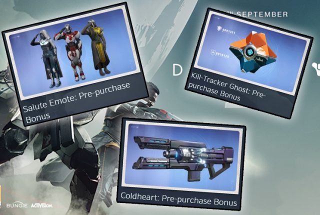 Destiny2 Preorder Items |iVerzuS Destiny