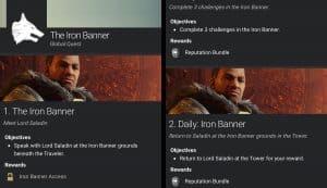 Destiny 2 アイアンバナー リーク情報 クエスト|iVerzuS Destiny