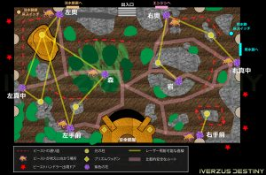 D2 レイドリヴァイアサン 幸福庭園マップ|iVerzuS Destiny